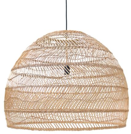 Wicker Hanging Pendant - Natural