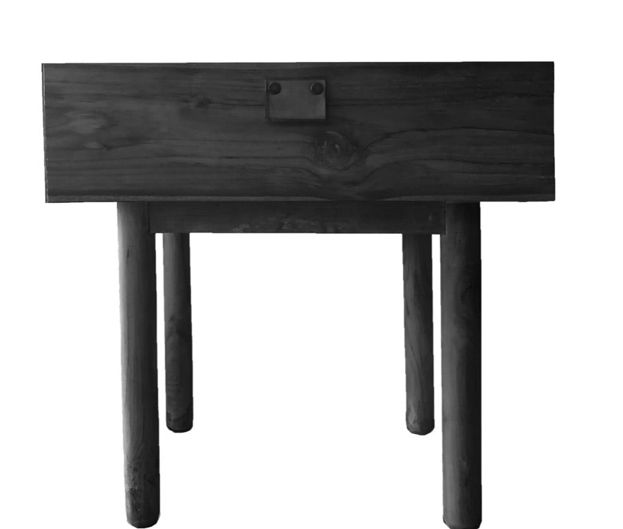 Aria Bedside table Black