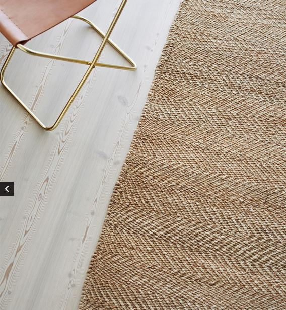 Armadillo&Co Serengeti Hemp Weave Natural and Ivory Rug