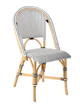 Saint Tropez Bistro Chair - Black