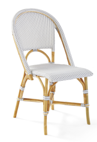 Saint Tropez Bistro Chair - Grey