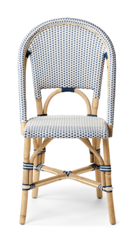 Saint Tropez Bistro Chair - Navy