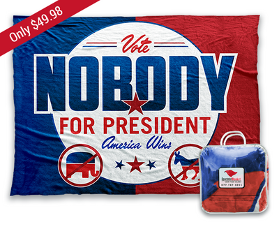 Vote Nobody button
