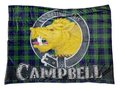 Campbell Clan Scottish Blanket