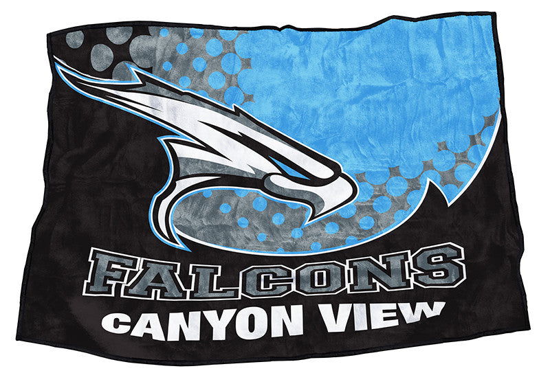 "Canyon View Falcons 48"" x 70"""