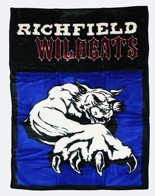 "Richfield Wildcats 48""x70"""