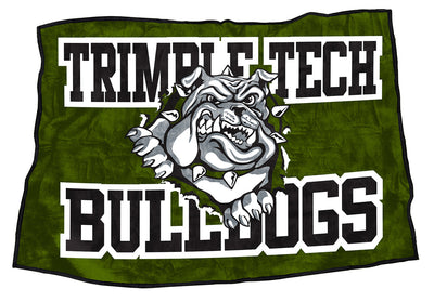 "Trimble Tech Bulldogs  48"" x 70"""