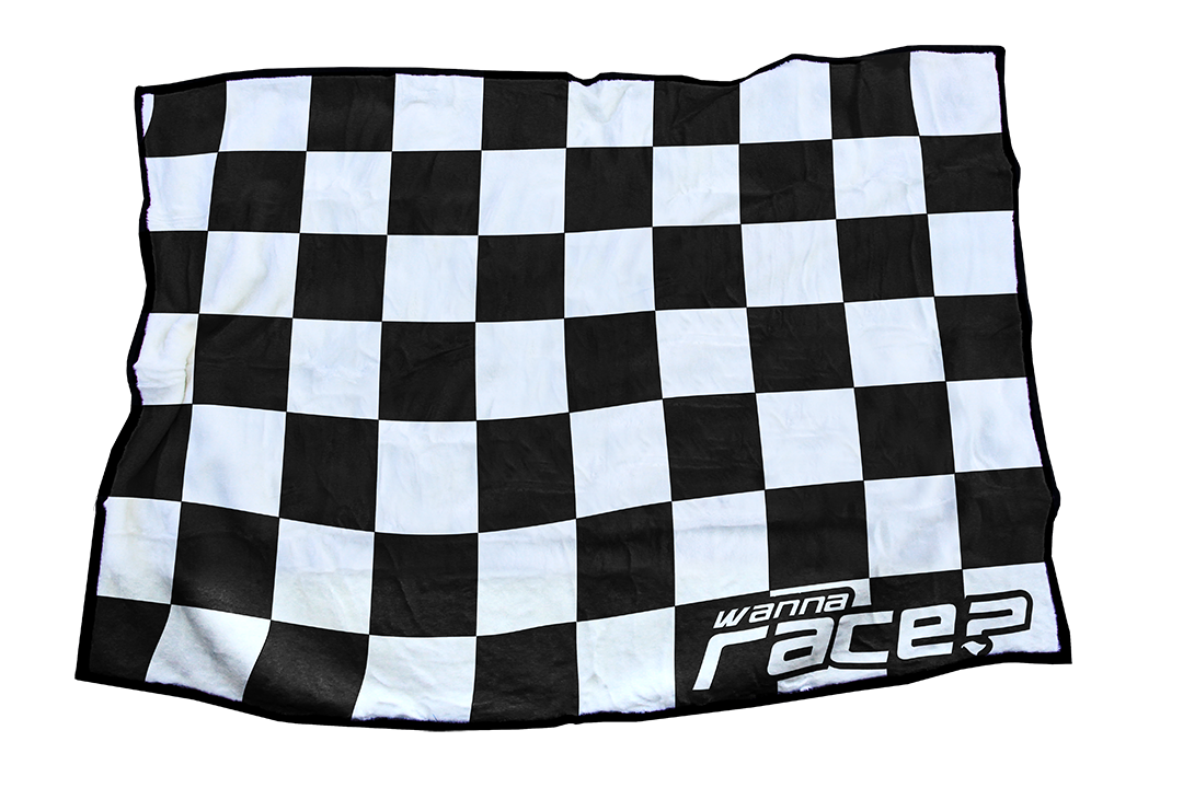 Wanna Race Blankets Black