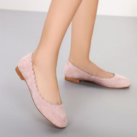 Leather Espadrilles Women Flats