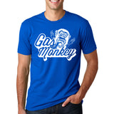 Gas Monkey Graphics Print T-Shirts