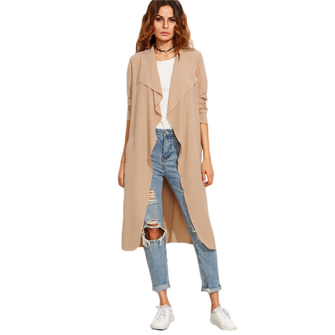 Autumn Fashion Long Coat