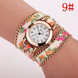 New Style Women Watch Leather Luxury Bracelet Wristwatch Dress Watches Women Quartz Watches Fashion Casual Watch