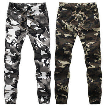 Hot Men Patchwork Joggers