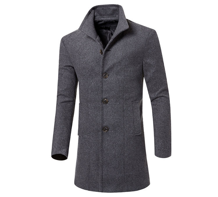 Men Winter Wool Jacket