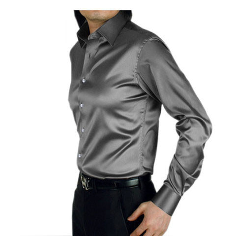 Silk Men's dress shirts