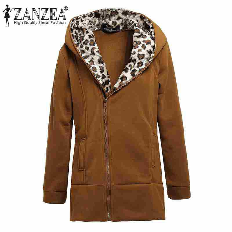 A/W Fashion Women's Leopard Print Coat