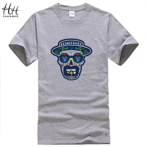 Heisenberg Print Men T Shirt