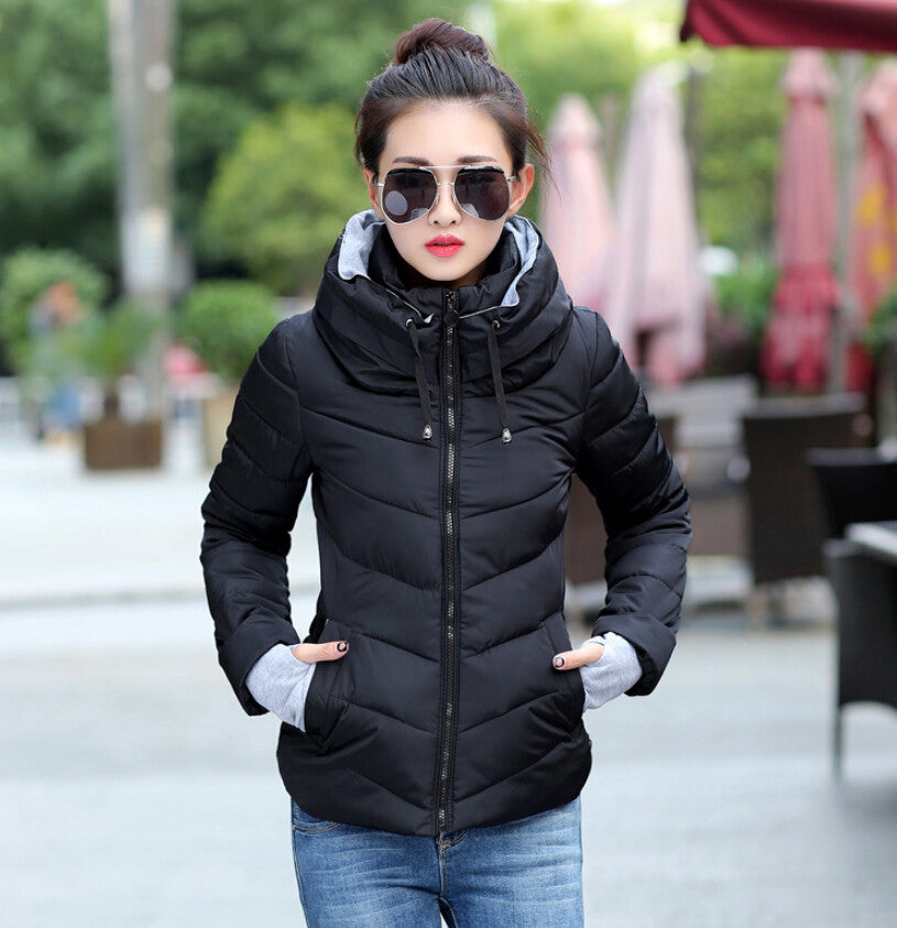 Warm & Light Down Padded Winter Jacket