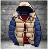 Warm Winter Hooded Jacket