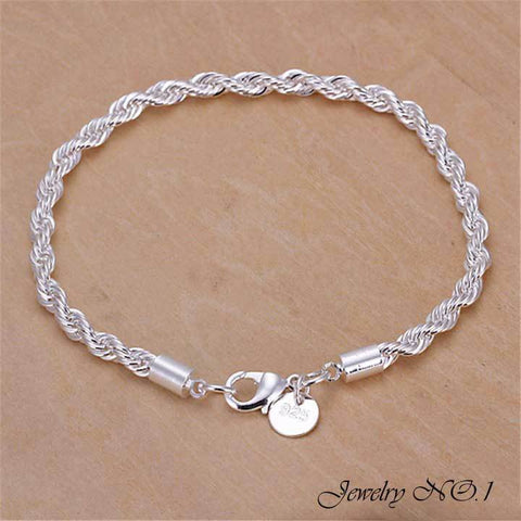 Bracelet Plated Silver Bracelet Fashion Jewelry For Men Women Bracelets For Women