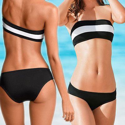 Women's Cutest Push up bikini set Beach wear Swimwear bathe suit Swimsuit S M L