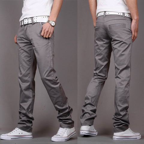 New Casual Men's Pants