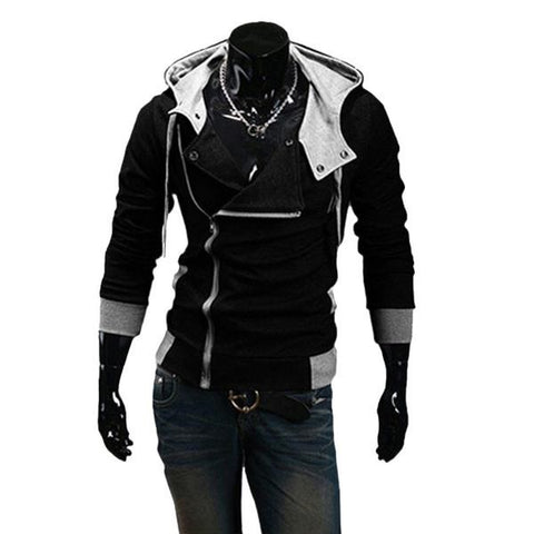 Winter & Autumn Men's Fashion Brand Hoodies Sweatshirts ,Casual Sports Male Hooded Jackets