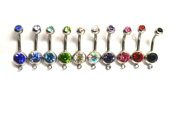 ice skates belly ring CHOOSE ONE  crystal winter hockey frozen ice skating Christmas  fantasy belly dancer  and hipster style