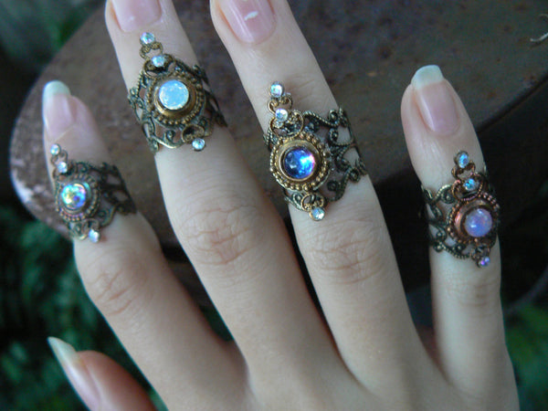 knuckle ring CHOOSE ONE armor ring  midi ring nail ring claw ring
