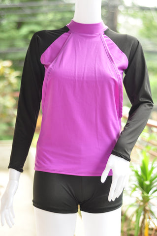 Rash Guards - Mommy Long Sleeves - Plains 2