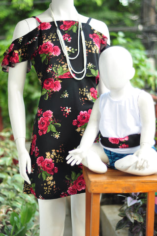Jen Dress - Twinie B (Baby Boy sando)