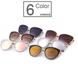 Cat Eye Sunglasses Alloy Frame - BisCloset