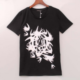 Swallow printed Spring Fashion T-shirt - BisCloset