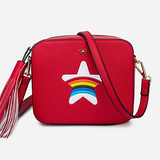 Rainbow Star Fashion Bag - BisCloset