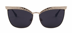 Fashion Women Crystal Diamond Sunglasses - BisCloset