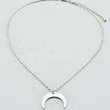 Fashion Moon Pendant Necklace - BisCloset