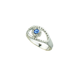 Fashion Women Blue Eye Finger Ring - BisCloset