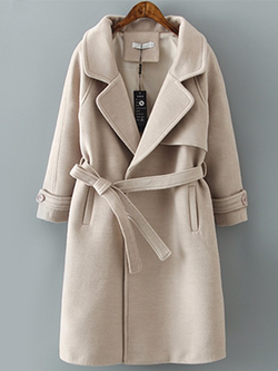 Casual Winter Cute Long Coat BisCloset