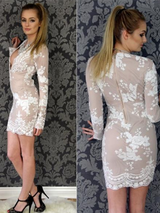 Sexy Sequine Party Dress Bodycon - BisCloset