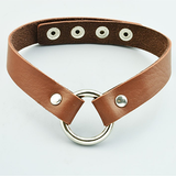 Fashion Leather Choker Necklace - BisCloset