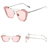 Vintage Cat-eye Sunglasses Unique Shaped - BisCloset