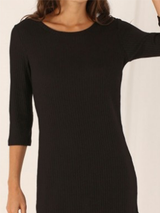 Casual Black Bodycon Chic Dress BisCloset