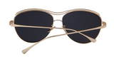 Women Butterfly Sunglasses Luxury Metal - BisCloset