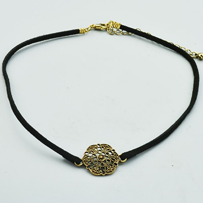 Vintage Flower Choker Necklace - BisCloset