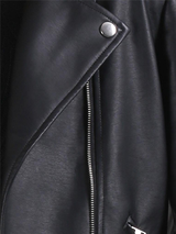 Black Woman Jacket Classic Waist - BisCloset