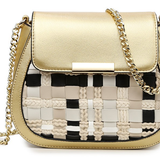 Cute Plaid Cross body Messenger Bag - BisCloset