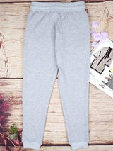 Off Shoulder Gray Sport Top Pants - BisCloset