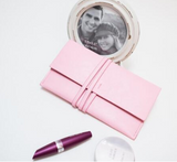 Evening Party Bag Clutch Pink Envelope Bag - BisCloset