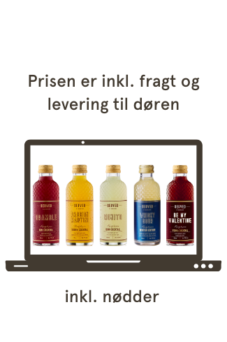 Virtuel Forårsbar 5x180 ml cocktail