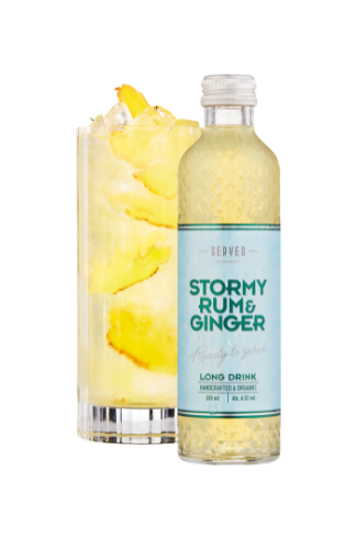 Stormy Rum & Ginger - Long Drink SERVED by Nohrlund